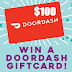 DoorDash $100 Gift Card Giveaway - 49 Winners Win $100 Each. Limit One Entry, Ends 9/25/20