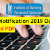 IBPS SO Notification 2019 Out: Download PDF | 1163 Vacancies