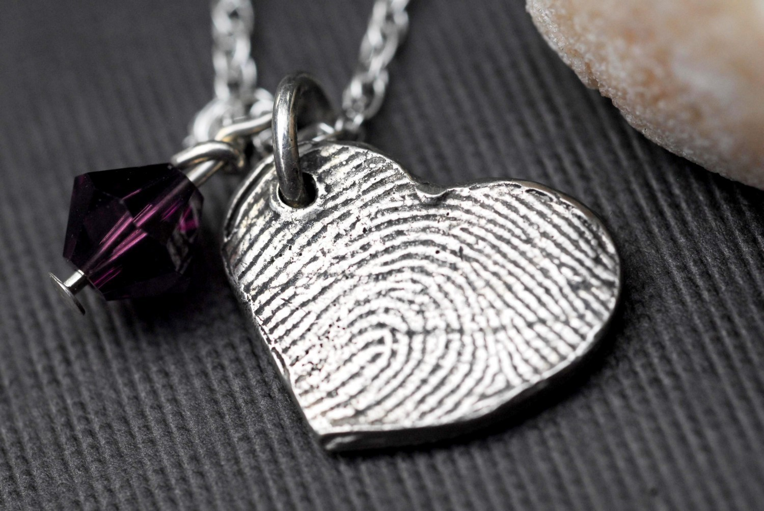 Wear metal clay fingerprint jewellery in uk fingerprint jewellery actually this type of jewellery is made to order by the craftsman and are handmade the special precious metal clay that is the mouldable material used to solutioingenieria Choice Image
