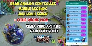 Cara Mengubah Tampilan Analog Controller Mobile Legends Terbaru 2020