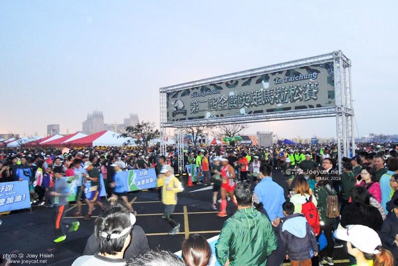 第二屆 英雄馬拉松 台中港