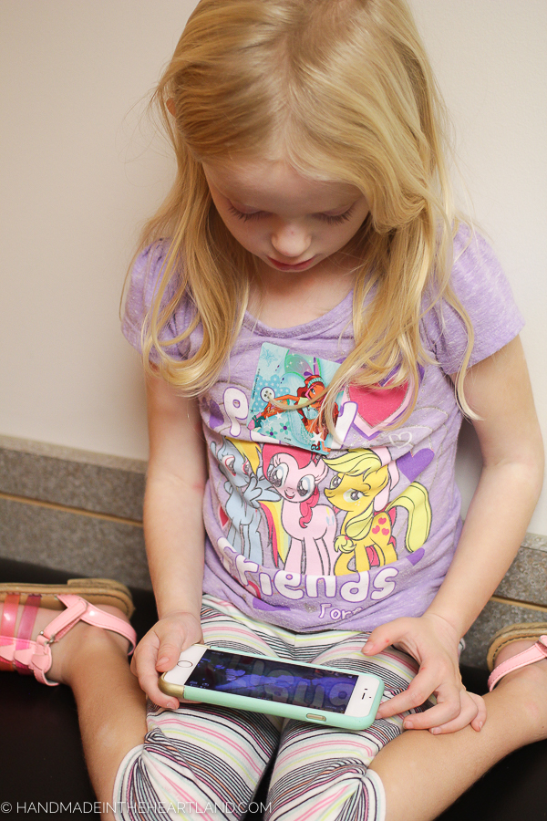 Help ease shot distress in kids