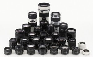 Pilihan Lensa Mirrorless Sony (foto dari website Sonyalphalab.com)