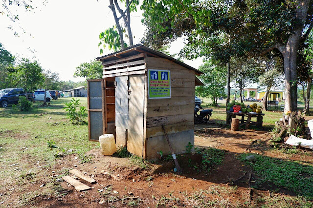 Toilet di Danau Gedang Bengkulu