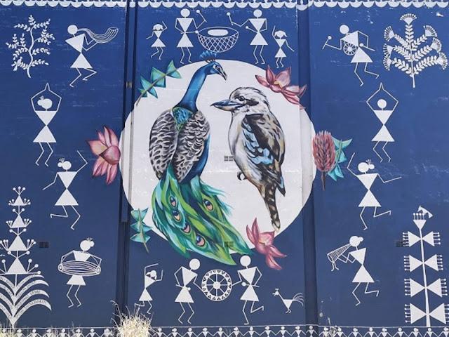 Parramatta Street Art | Mualisto, Katherine Nelson & @sitstillsally