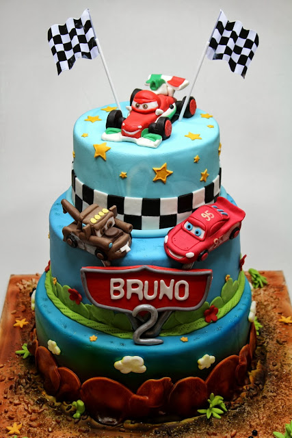 CARS Birthday Cake in London - Best Cakes in Kingston Upon Themes, London Cakes