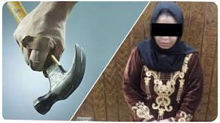 """العاصمة : اتهمها زوجها بإقامة علاقات حميمية مع شباب الحي .. فقتلته """"بمطرقة"""""""