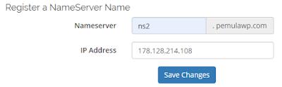 Cara Membuat Nameserver di CyberPanel