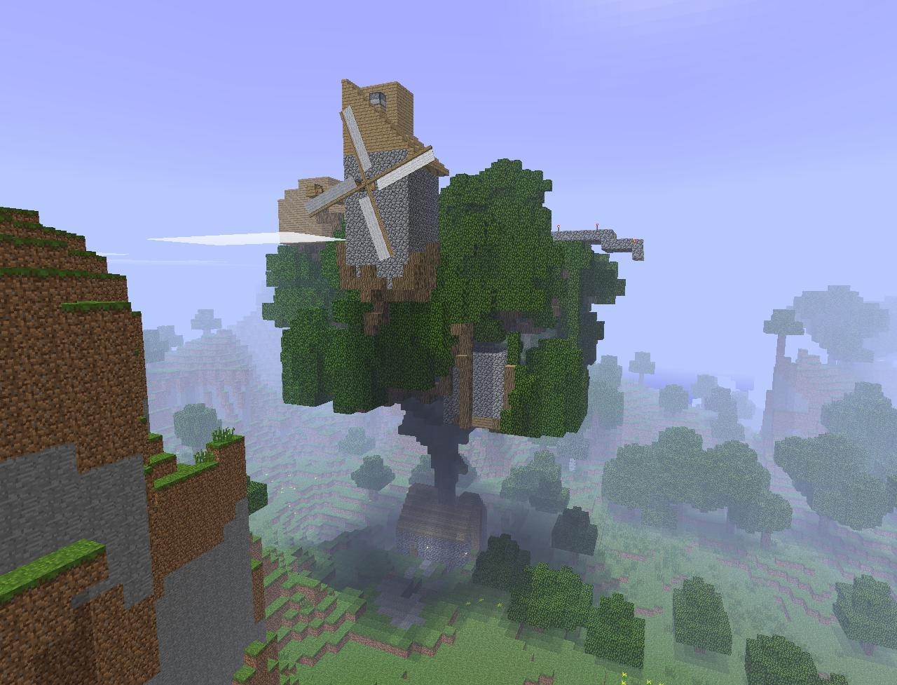 Warburtonlabs Minecraft Treehouse