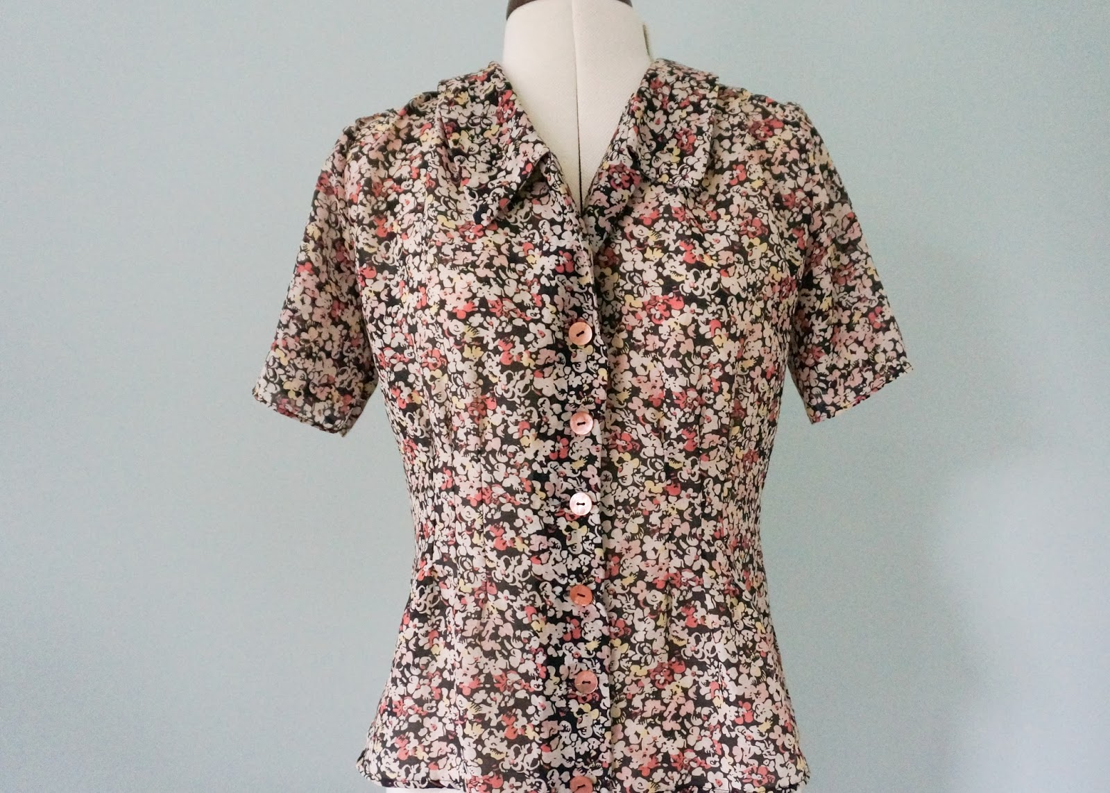 Amelie Tuck Blouse by Til The Sun Goes Down front view