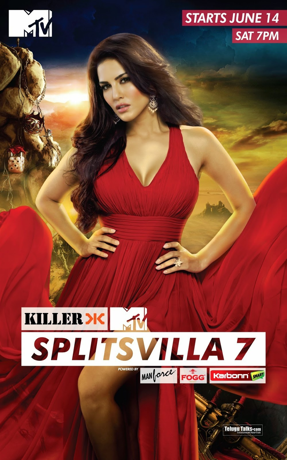 Sunny Leone Sunny Leone Mtv Splitsvilla 7 Hot Photoshoot -5961