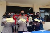 Tiga Pelaku Begal Sadis Diringkus Unit Reskrim Polsek Tambun