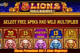 Ulasan Permainan Slot 5 Lions Megaways