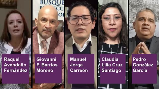 Inicia proceso de entrevistas a 19 aspirantes a ocupar titularidad de Comisión Ejecutiva de Atención a Víctimas