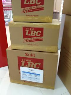 LBC Balikbayan Sulit box