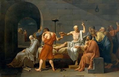 Jacques Louis David, La muerte de Sócrates