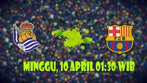Prediksi Real Sociedad vs Barcelona 10 April 2016