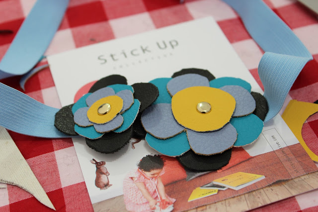 Handmade Fair - Velcro flower headband