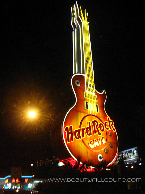 Hard Rock Cafe Guitar Las Vegas