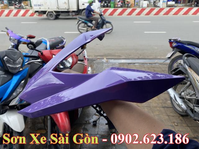 Mẫu Xe Winner 150 sơn màu tím nhạt cực đẹp