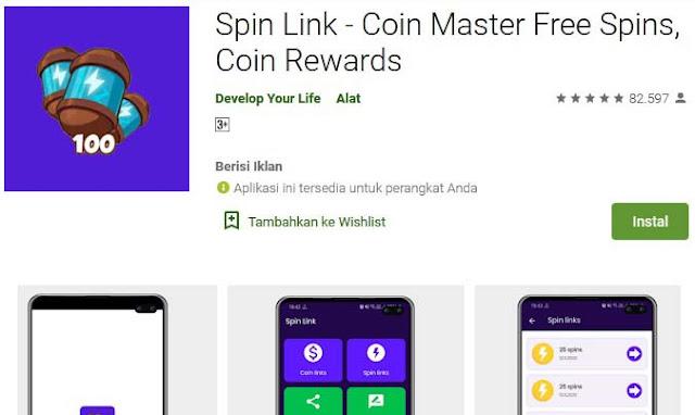 game spin penghasil uang mudah
