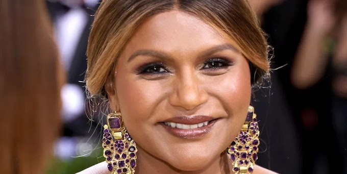 You See Mindy Kaling's Look at the Retro Hair Trend