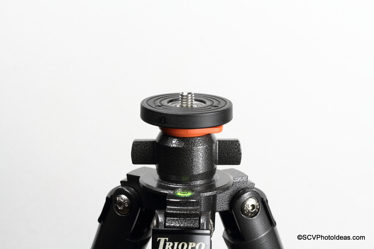 Triopo GX-1328 Classic Tripod top mounting plate