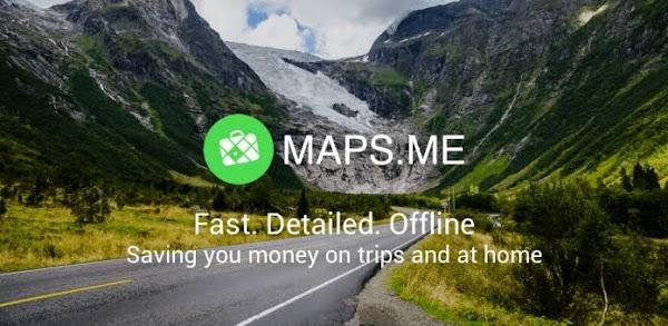 MAPS.ME – Offline Map and Travel Navigation v9.5.0 MOD [Latest]