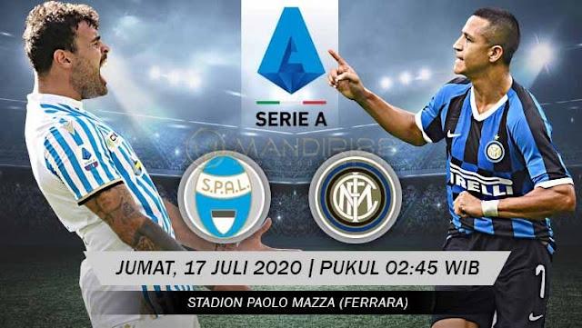 Prediksi Spal 2013 Vs Inter Milan, Jumat 17 Juli 2020 Pukul 02.45 WIB @ RCTI