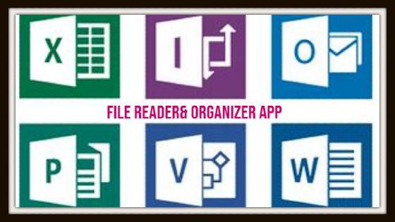 file reader and organizer app