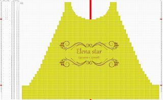 платье жемчужинка схема переда