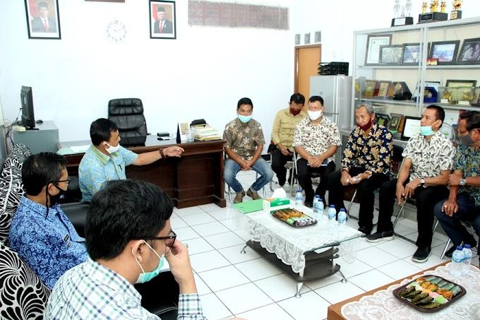 Kang Akur Terima Kunjungan Kementerian Pertanian