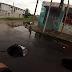 Dois buracos se abriram na avenida Leão Veloso entre os bairros Quintas e Alecrim