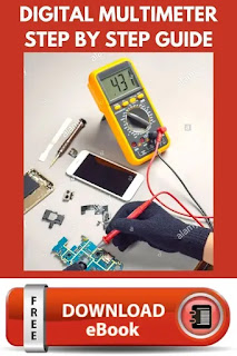 how to use multimeter in mobile phone repairing