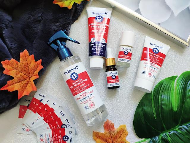 Dr. Szmich - Kosmetyki i preparaty do rąk o działaniu dezynfekującym i odżywczym