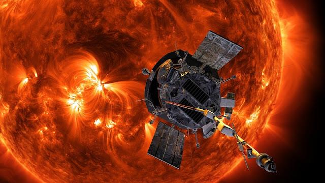 Sonda Parker Solar Probe da Nasa que irá ao Sol (Imagem: Reprodução/Nasa)