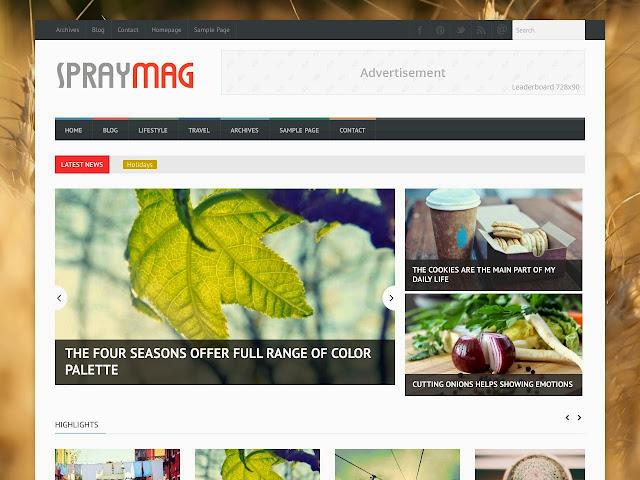 Spraymag                                                                                                                                                                                                                                                               http://blogger-templatees.blogspot.com/2016/03/spraymag.html
