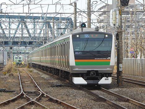 湘南新宿ライン 高崎線直通 特別快速 高崎行き2 E233系