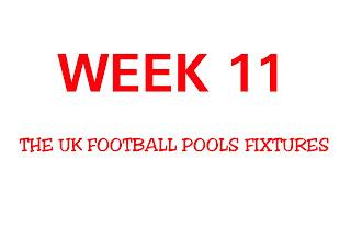 the uk football pools fixtures