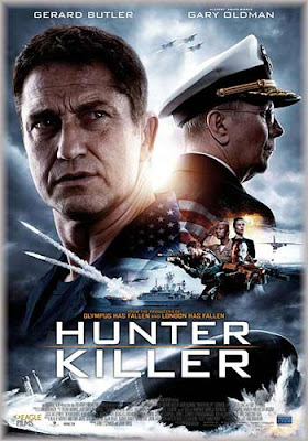 Hunter Killer 2018 480p HDRip 350MB