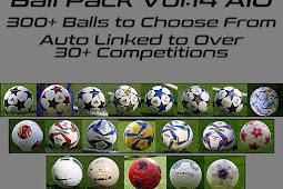 Balls Pack Server V14 (300+ Balls) AIO - PES 2020