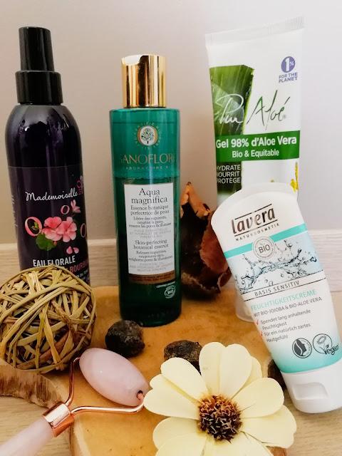 ma routine anti-acné avec des produits bio et naturels