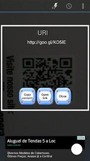 Decodificação de QR Code