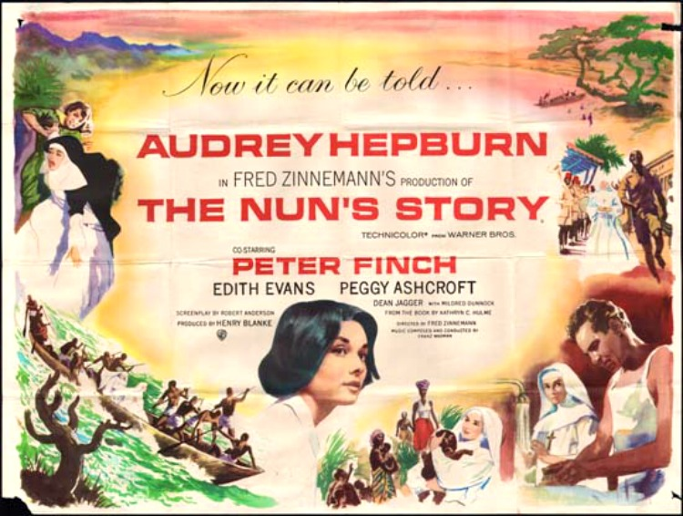 A Vintage Nerd, Old Hollywood Blog, Classic Film Blog, Movie Madness Monday, Film Recommendations, Religious Classic Films, Audrey Hepburn