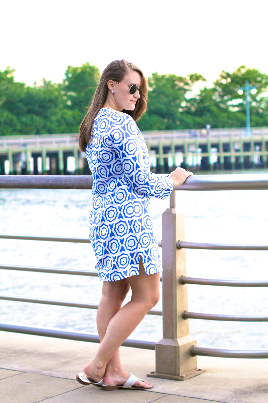 Sail To Sable Tunic, july 4th outfit