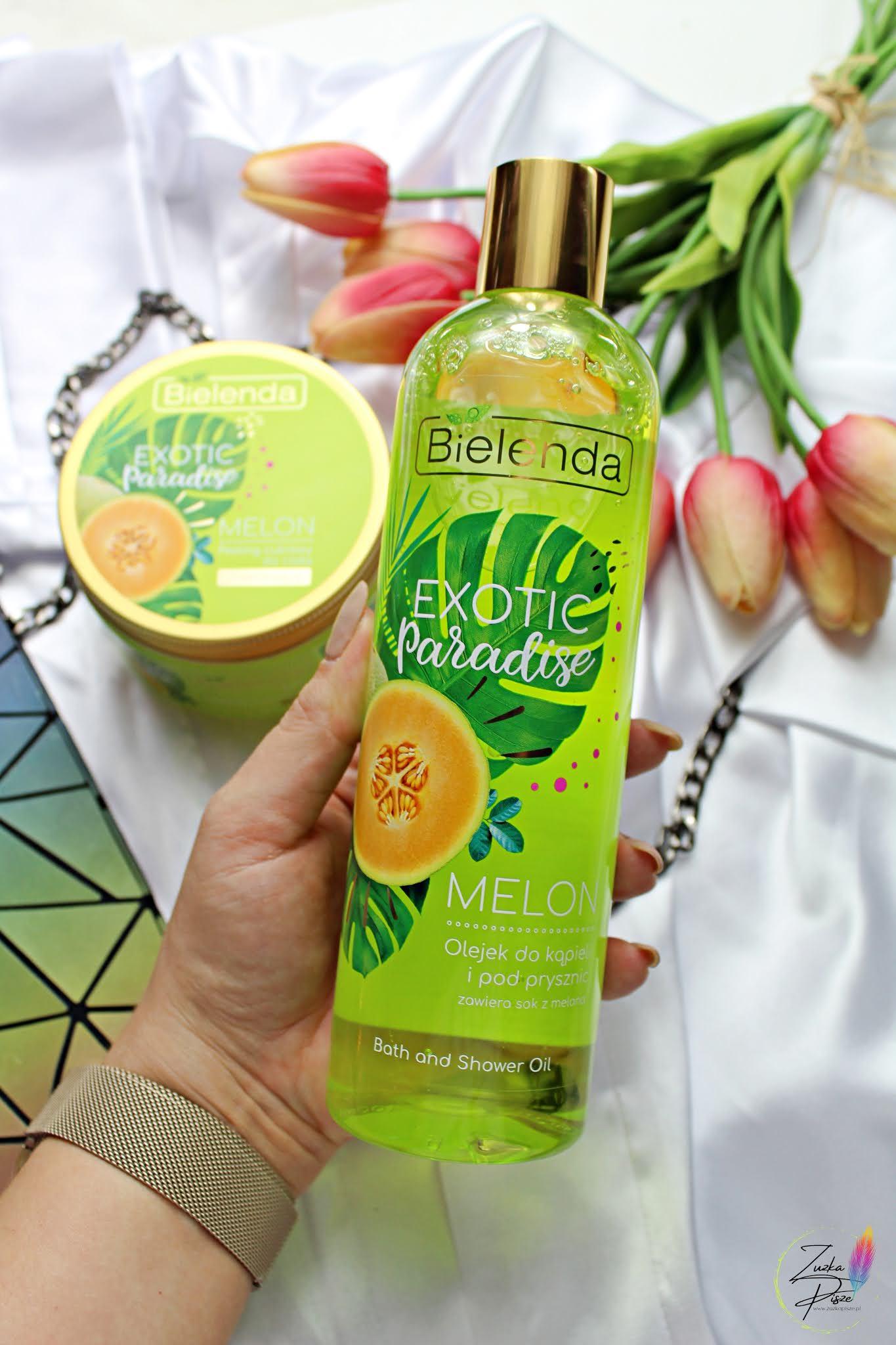 Bielenda Exotic Paradise Melon - odświeżający olejek pod prysznic