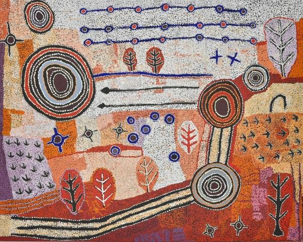 Artwork by Alec Baker, #3-18 - acrylic on linen | imagenes de obras de arte abstracto, pinturas, abstract paintings, art pictures, cool stuff.