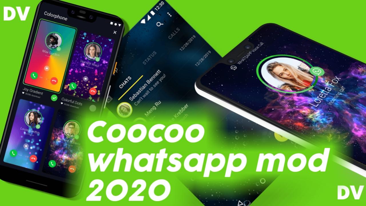 Coocoo whatsapp mod download