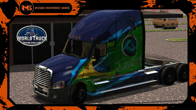 ROGER MONTEIRO SKINS - SKINS WTDS - SKINS WORLD TRUCK DRIVING SIMULATOR