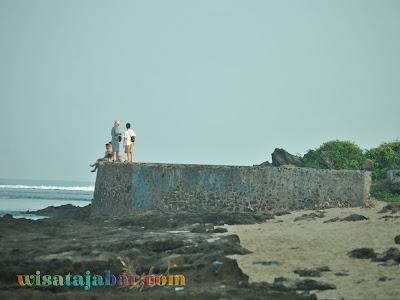 wisata pantai santolo garut juli 2020